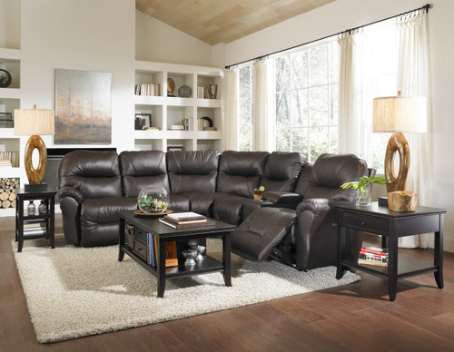Bodie Leather Sectional