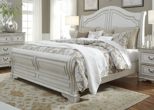 Magnolia Manor King Sleigh Bed