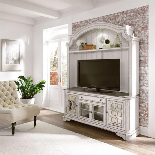 Magnolia Manor TV Console with hutch