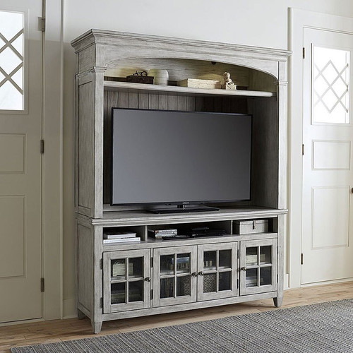 Heartland TV Console w/ Hutch