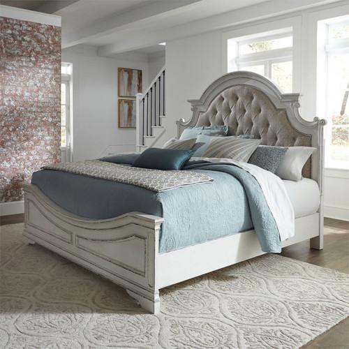 Magnolia Manor Queen Upholstered Panel Bed