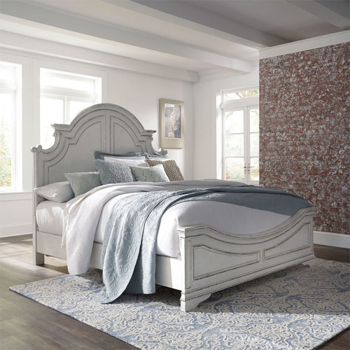 Magnolia Manor King Panel Bed