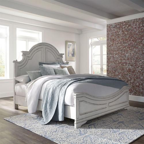 Magnolia Manor King Panel Bed