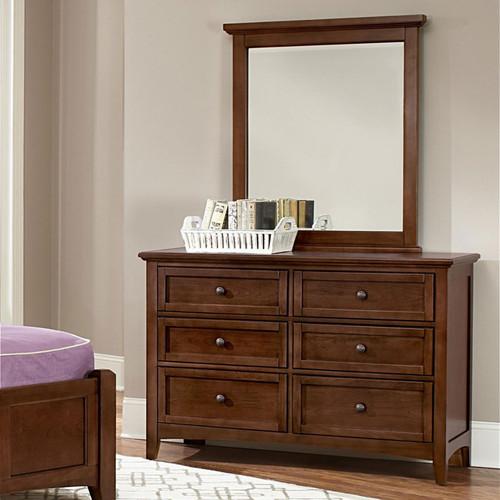 Bonanza Cherry Youth Dresser & Mirror