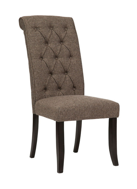 Tripton Graphite Dining Upholstered Side Chair (1/CN)