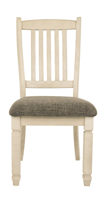 Bolanburg Two-tone Dining Upholstered Side Chair (1/CN)