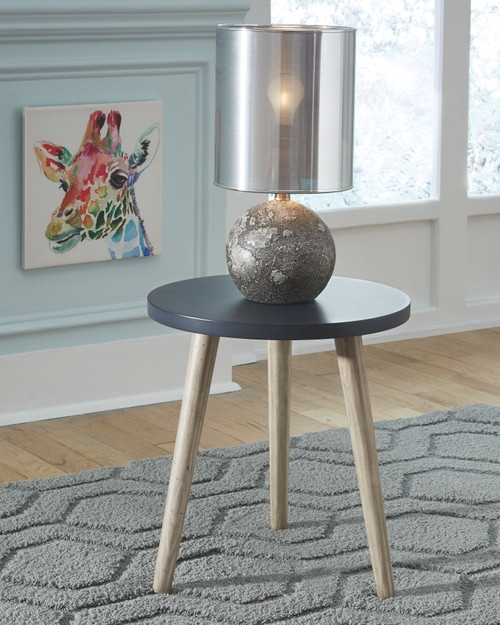 Fullersen Blue Accent Table