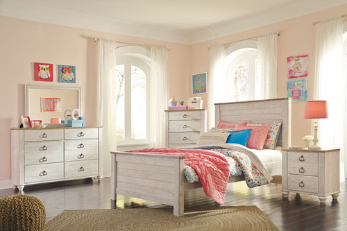 Willowton 4 Pc Bedroom Group