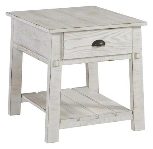 Mercantile Chair Side End Table