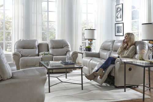 Bodie Power Reclining Leather Sofa
