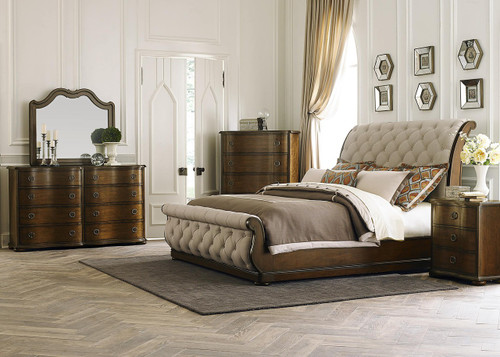 Cotswold 4 Piece King Bedroom Collection: Cinnamon