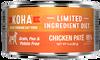 Koha Cat Grain Free Chicken LID Pate