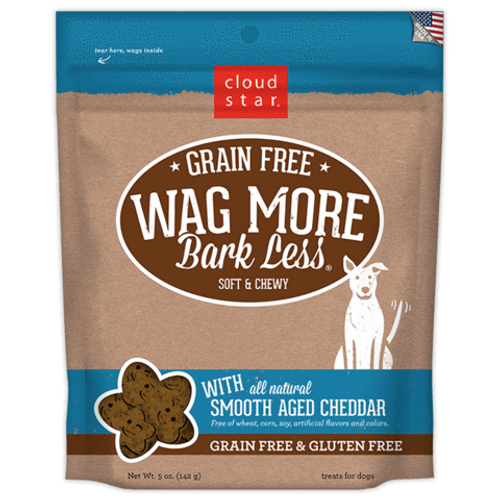 Wag More, Bark Less GF Soft Smooth Aged Cheddar 5oz