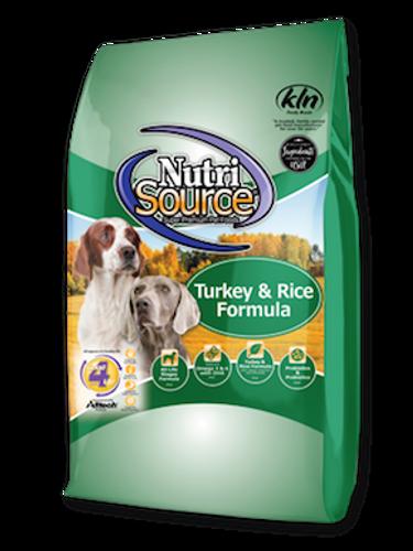 NutriSource Dog Turkey & Rice