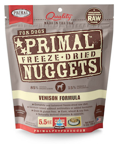 Primal Dog Freeze-Dried Venison