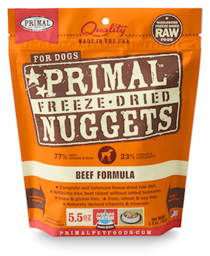 Primal Dog Freeze-Dried Beef