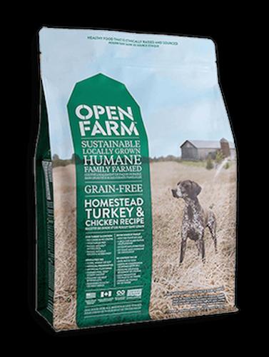 Open Farm Dog Grain-Free Homestead Turkey & Chicken