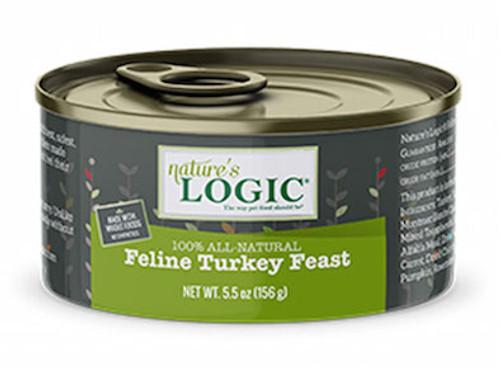 Nature's Logic Cat Turkey Feast 5.5oz