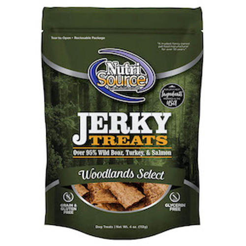 NutriSource GF Woodlands Select Jerky 4oz