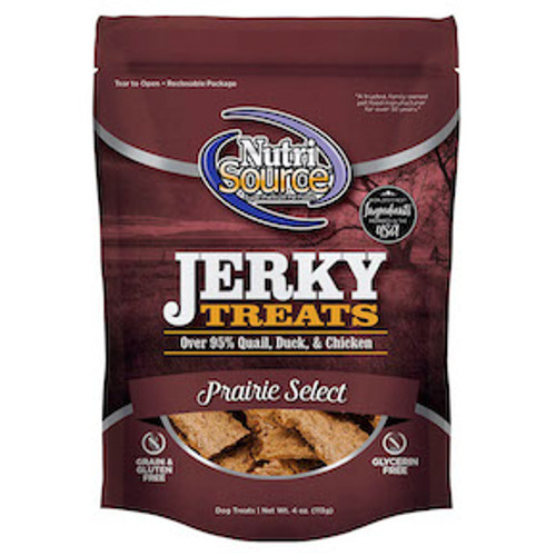 NutriSource GF Prairie Select Jerky 4oz