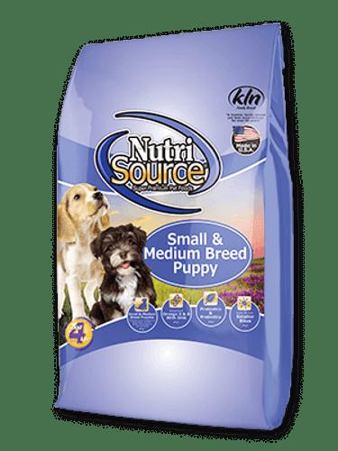 NutriSource Small/Medium Breed Puppy Chicken & Rice