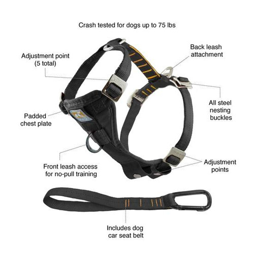 Kurgo Tru-Fit Enhanced Strength Harness