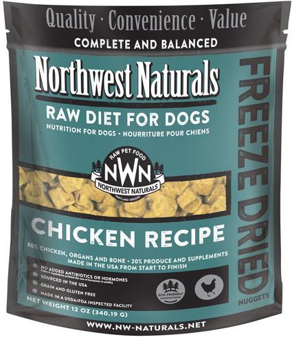 Northwest Naturals Freeze-Dried Dog Chicken 12oz