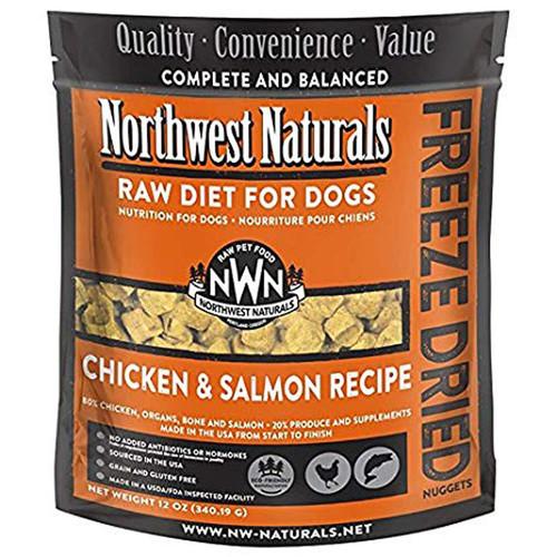 Northwest Naturals Freeze-Dried Dog Chicken & Salmon 12oz