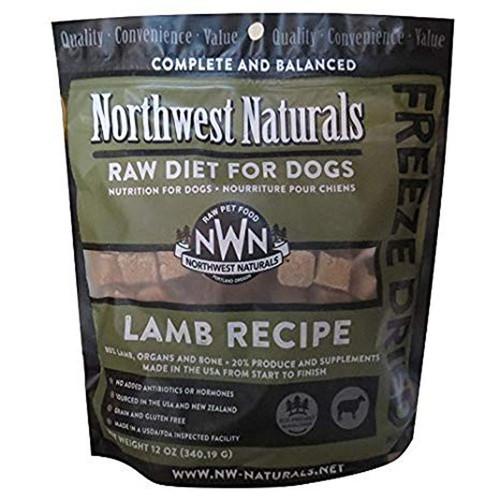 Northwest Naturals Freeze-Dried Dog Lamb 12oz