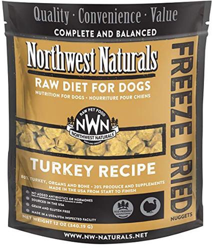 Northwest Naturals Freeze-Dried Dog Turkey 12oz