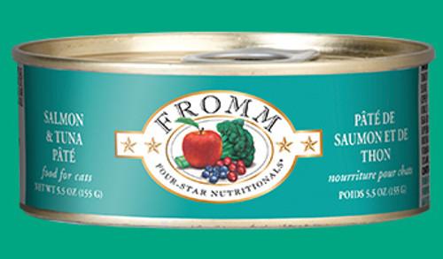 Fromm Cat Salmon & Tuna Pate 5.5oz
