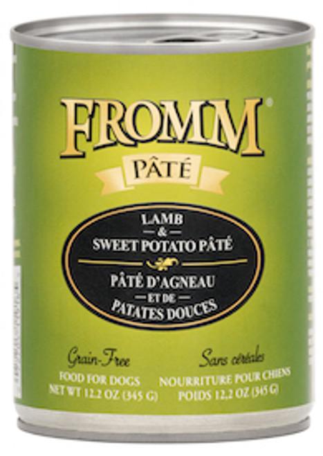 Fromm Grain Free Lamb & Sweet Potato Pate 12.2oz