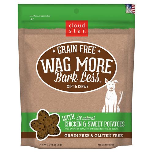 Wag More, Bark Less GF Soft Chicken & Sweet Potato 5oz