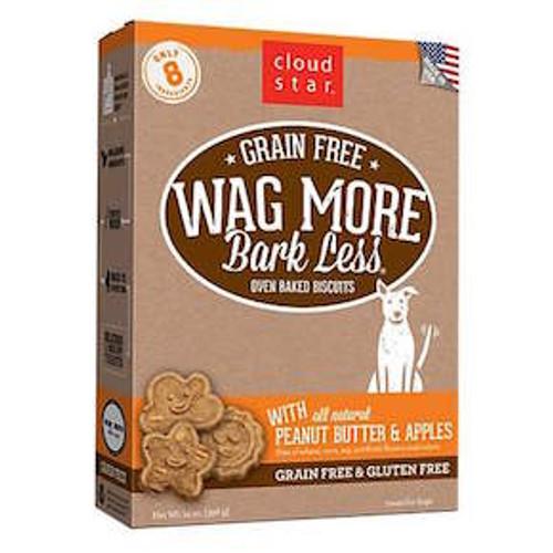 Wag More, Bark Less GF Baked Peanut Butter & Apple 14oz