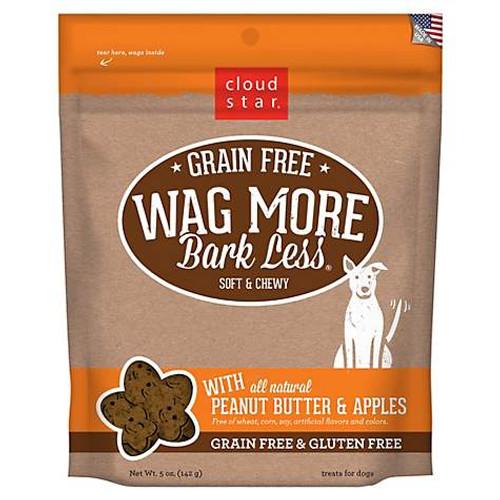 Wag More, Bark Less GF Soft Peanut Butter & Apple 5oz