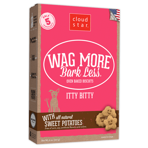 Wag More, Bark Less Baked Itty Bitty Sweet Potato 8oz