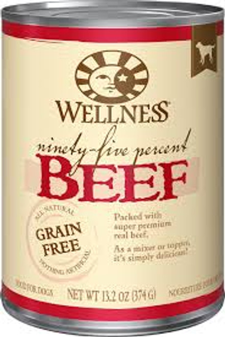 Wellness 95% Beef 13.2oz