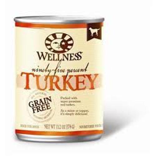 Wellness 95% Turkey 13oz