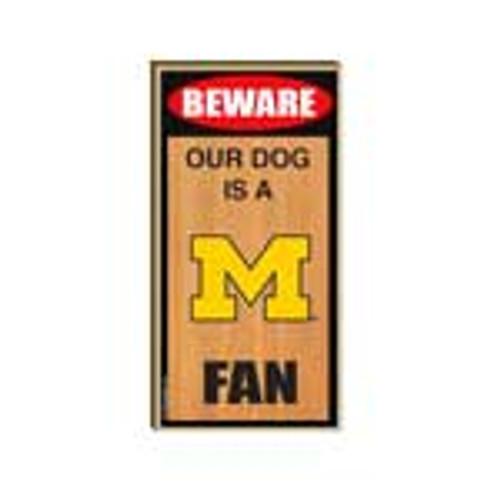 University of Michigan Wooden Plaque