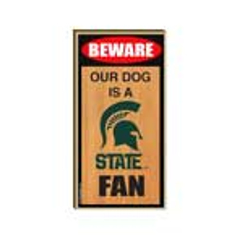 Michigan State University Wooden Plaque