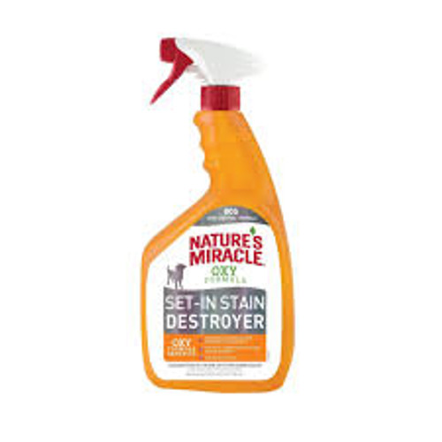 Nature's Miracle Orange-Oxy Power Stain & Odor Remover Spray 32oz