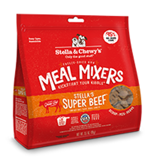 Stella & Chewy's Freeze-Dried Meal Mixer Super Beef