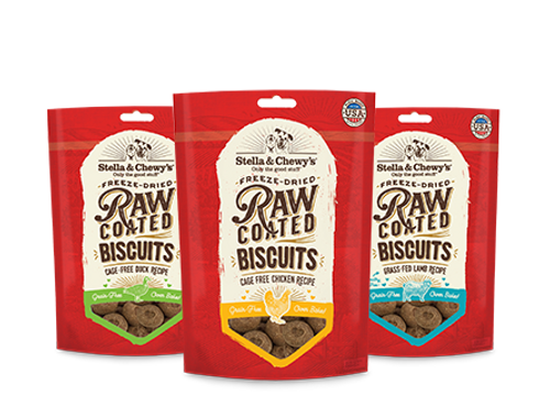 Stella & Chewy's Raw Coated Biscuits 9oz