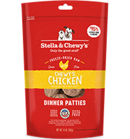 Stella & Chewy's Dog Freeze-Dried Dinner Patties Chewy's Chicken