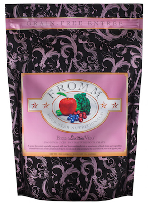 Fromm Cat Four Star Grain-Free Beef Livattini