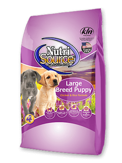 NutriSource Large Breed Puppy Chicken & Rice