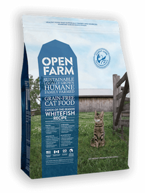 Open Farm Cat Grain-Free Catch of the Season Whitefish