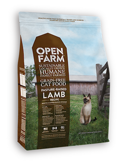 Open Farm Cat Grain-Free Pasture Raised Lamb