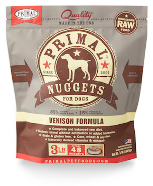 Primal Dog Frozen Venison
