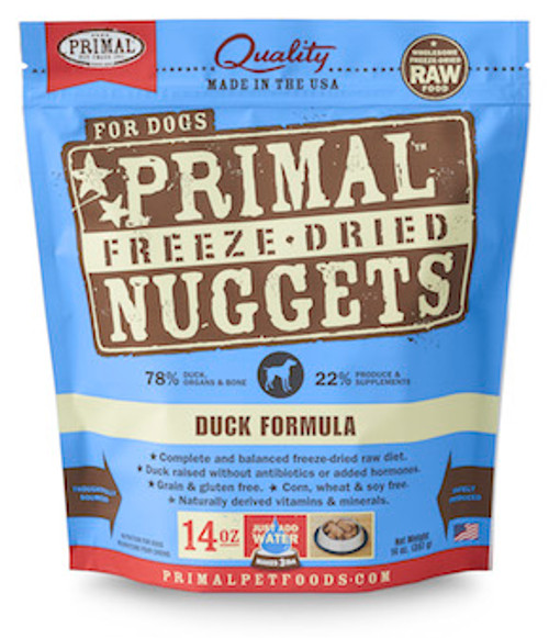 Primal Dog Freeze-Dried Duck